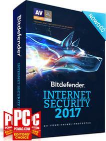 BitDefender Internet Security 2017 1PC