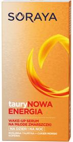 Soraya Taurynowa Energia Wake-Up 30 ml Pobudzające serum przeciwzmarszczkowe na dzień na noc DARMOWA DOSTAWA DO KIOSKU RUCHU OD 24,99ZŁ