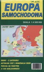 PIĘTKA Europa - mapa - Piętka