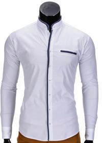 Koszula K346 - BIAŁA