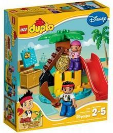 LEGO Duplo Jake i Piraci z Nibylandii na Wyspie Skarbów 10604
