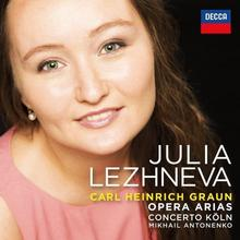 Opera Arias Julia Lezhneva CD) Julia Lezhneva