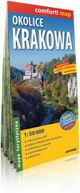ExpressMap praca zbiorowa comfort! map Okolice Krakowa. Laminowona mapa turystyczna 1:50 000