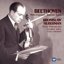 Beethoven Violin Concerto Kreutzer Sonata CD) Bronisław Huberman