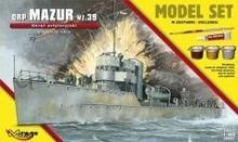"Mirage Hobby Okręt Artyleryjski ORP \""MAZUR"""