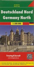 Freytag&Berndt Niemcy część północna mapa 1:500 000 Freytag & Berndt