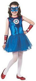 Captain AmericaAmerican Dream Tutu sukienka kostium dla dzieci -  m wielokolorowa B00HA4ZCMK
