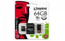 Kingston Micro SD Class 10 + adapter 64GB