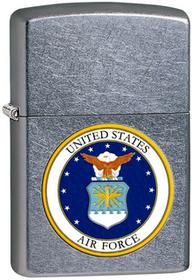 Zippo Zippo, Zapalniczka, US Air Force, Street Chrome