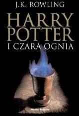 Media Rodzina J.K. Rowling Harry Potter i Czara Ognia (czarna edycja)