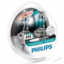 Philips Żarówka H4 12V X-treme Vision +130% 2szt 12342XV