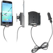 Brodit AB Uchwyt do Samsung Galaxy S6 Edge z wbudowanym kablem USB oraz ładowarką samochodową 521731