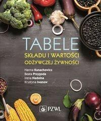 Wydawnictwo Lekarskie PZWL Tabele składu i wartości odżywczej żywności - Hanna Kunachowicz, Beata Przygoda, Irena Nadolna, Krystyna Iwanow