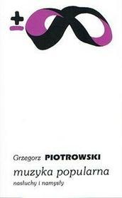 PIW Muzyka popularna - Grzegorz Piotrowski