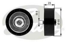 GATES rolka kierunkowa / prowadząca, pasek klinowy zębaty T36158