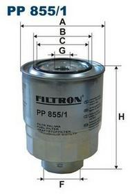 FILTRON PP 855/1 FILTR PALIWA