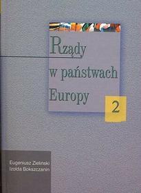 Rządy w państwach Europy, tom 2 - Eugeniusz Zieliński, Bokszczanin Izolda