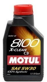 Olej silnikowy syntetyczny 8100 X-clean 5W30 C3 (1 litr) MOTUL 102785