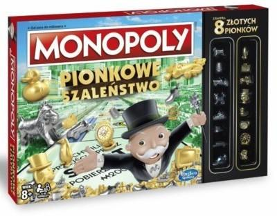 Hasbro Monopoly Pionkowe Szaleństwo
