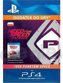 Sony Need for Speed Payback 1050 Punktów Speed [kod aktywacyjny]