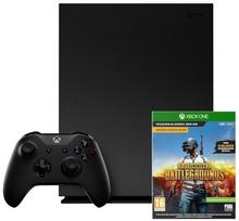 Microsoft Xbox One X 1TB + Playerunknowns Battlegrounds
