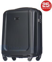 Puccini Mała kabinowa walizka IBIZA ABS04C 1 Czarna - czarny ABS04C 1