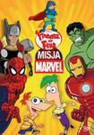 Fineasz i Ferb Misja Marvel DVD) Robert Hughes Sue Perrotto