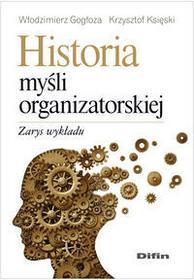 Gogłoza Włodzimierz, Księski Krzysztof Historia myśli organizatorskiej - mamy na stanie, wyślemy natychmiast
