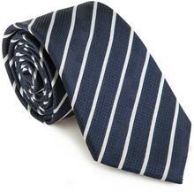 Wittchen 85-7K-007-7 Krawat granatowo - biały