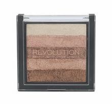 Makeup Revolution London Shimmer Brick rozświetlacz 7 g dla kobiet Radiant
