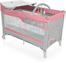 Baby Design Babydesign łóżeczko turystyczne DREAM NEW 08 RÓŻOWE 766255