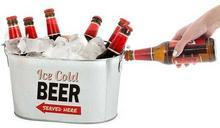 Prezenty.pl Cooler do piwa z otwieraczem
