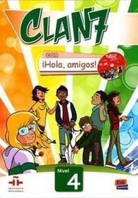 NOWELA Clan 7 con hola amigos 4 podręcznik - Nowela