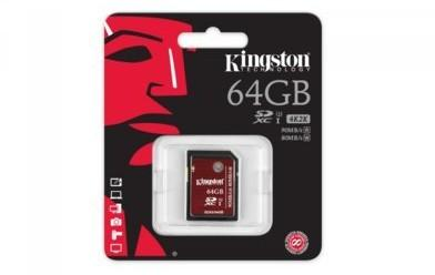 Kingston SDXC UHS-I Speed Class 3 64GB