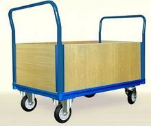 008 00853929 Wózek platformowy skrzynkowy z bokami ze sklejki wymiary 1050x700 mm) 53929-uniw
