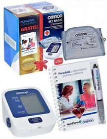 Omron Ciśnieniomierz M2 Basic Edycja Limitowana ciśnieniomierz automatyczny naramienny + poradnik z długopisem