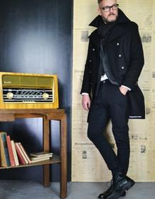 reykjavik district Płaszcz Spy Coat Black