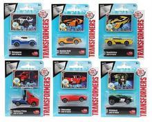 Dickie Toys Transformers Metalowe pojazdy, 6 rodzajów