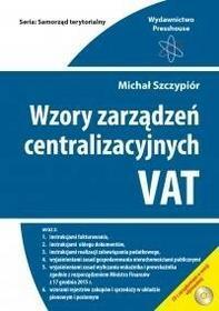 PRESSHOUSE Isabelle Wierzbicka Wzory zarządzeń centralizacyjnych VAT