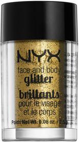 NYX Professional Make UpNYX Professional Make Up Rozświetlacze Body Brokat