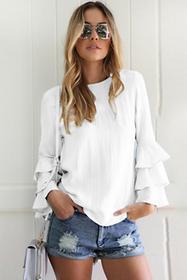 Damska bluzka REGNITA WHITE 02002-8