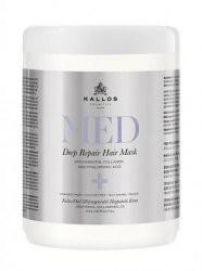Kallos Med Deep Repair maska regenerująca do włosów suchych i zniszczonych 1000ml