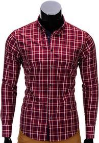 Ombre Clothing Koszula K327 - BORDOWA