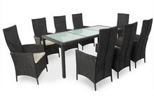 Zestaw mebli ogrodowych, stół + krzesła