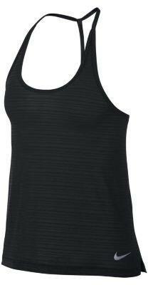 Koszulka Nike Pro Cool Compression bez rękawów SzaryCzarny
