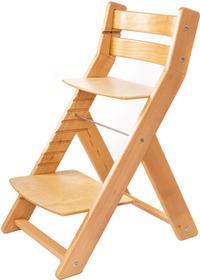 Wood Partner Krzesełko dla dziecka MONY naturalny