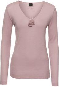 Bonprix Sweter dymny różowy