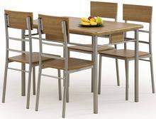 Halmar Zestaw Natan: stół i 4 krzesła