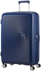 American Tourister walizka Soundbox 67 Navy