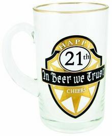 BOXER Boxer kufel do piwa do 21. urodziny, 600ML GWS221